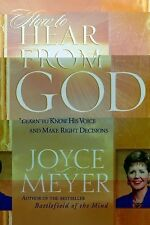 How To Hear From God - Joyce Meyer - Hardcover Edition - 2003