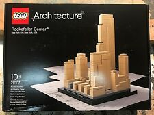 LEGO Architecture Rockefeller Center (21007) Brand New. Sealed. Retired.