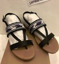 UGG Ladies Verona Serape Beads Sandals Size US 9 UK 7.5 1011005 W  NEW! $120.00