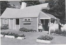 """*POSTCARD-""""The Crooked House"""" -1961- ...Classic  @ Story Land, Glen, NH (#76)"""