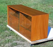 Mid Century Danish Modern Teak Modular Wall Unit Floating Cabinet HG Furniture
