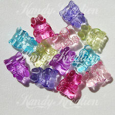 12 Hello Kitty 25mm Beads For Kandi Pony crafts Bubblegum Necklace Chunky Deco