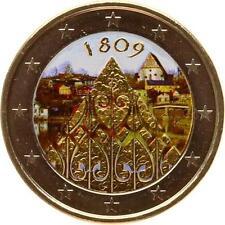 A2924 2 Euros Commemo 2009 200 ans 1809 Colorful Colorisé FDC UNC! - Faire offre