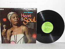 NINA SIMONE Heart And Soul LP Vinyl UK Gin House Blues & House Of The Rising Sun