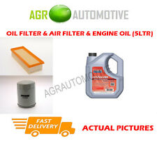 PETROL OIL AIR FILTER KIT + FS 5W40 OIL FOR ROVER 414 1.4 90 BHP 1990-92