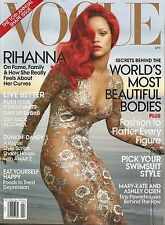 Rihanna 2011 Vogue Magazine Mag Newstand Edition Great Condition