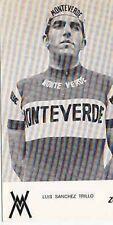 LUIS SANCHEZ TRILLO Cyclisme ciclismo MONTEVERDE 74 Cycling La Vuelta ciclista