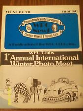 MAR 1980 WPC NEWS WALTER P CHRYSLER CLUB VOL 11 #7 1st annual winter photo MEET