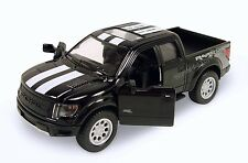 K105 Ford 2013 F-150 SVT Raptor Supercrew Pickup Truck 1:46 diecast model Black
