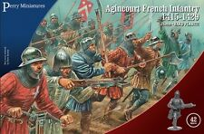 Perry Miniatures 28mm Agincourt French Infantry 1415-1429 # AO50