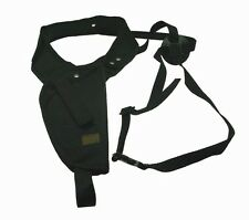 Black RIght Hand Vertical Shoulder Holster Hunting BB Air Soft Pistol Gun 201B
