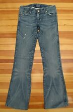 ROCK & REPUBLIC (ORIG) : 24 x 30.5 Sample SKYNARD Distressed Medium Wash Jeans