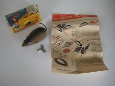 SCHUCO Mikifex Mouse 922, U.S. Zone Germany, Original Box, Instructions and Key