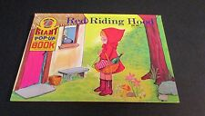 Red Riding Hood (1990, Hardcover) Giant Pop-Up Book