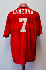MANCHESTER UNITED 1994/1995/1996 HOME FOOTBALL SHIRT JERSEY UMBRO CANTONA #7