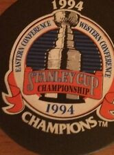 1994 New York Rangers Stanley Cup Champions Hockey puck