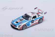 SPARK SB117 Mercedes-Benz SLS AMG GT3 GT Russian Team n°71 24h of Spa 2015 1/43