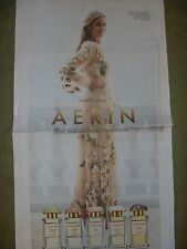 Aerin Lauder Fragrance Ad New York Times Newspaper Clipping Estee Perfume Model