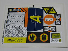 LEGO 8969 - AGENTS - 4-Wheeling Pursuit STICKER SHEET