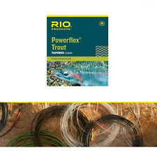 Rio Powerflex Trout Leader size 3x 8.2lb12ft