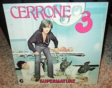 Cerrone 3: Supernature [LP] by Cerrone (Vinyl, Mar-2005, Simply Vinyl Records)