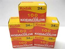 5 Rolls KODAK Kodacolor 24 exp 100 ASA ISO 35mm 135 Color Film 10/2011 Dating