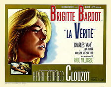 LA VERITA VERITE THE TRUTH MANIFESTO BRIGITTE BARDOT PAUL MEURISSE CLUZOT