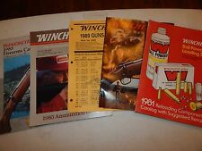 5 WINCHESTER AMMUNITION AUTHORITY GUIDE BALL POWDER LOADING GUN FIREARMS VINTAGE