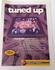 DEEP PURLE Machine Head (Virgin) UK magazine ADVERT/Poster/clipping 11x8 inches