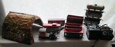 Vintage Mars Train Set 12 pcs Tunnel Oil Coal Wrecker Caboose Cattle Open Top