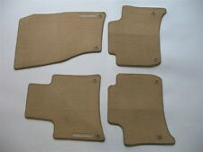 11 12 13 14 15 16 PORSCHE CAYENNE BEIGE CARPET FLOOR MATS RUGS OEM GENUINE SET