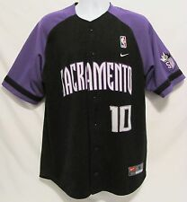 Nike Sacramento Kings NBA Basketball Jersey Mens Small S #10 Bibby Embroidered