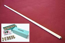 New Billiard Pool Cue Shaft 5/16x18 Piloted Joint  - GENUINE MOORI TIP INSTALLED