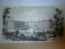 Gravure 19° Hopital militaire de Vincennes