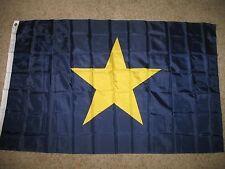 3x5 Burnet's Burnet Burnett 1st Texas Republic Flag 3x5 ft 1836-1839 Revolution