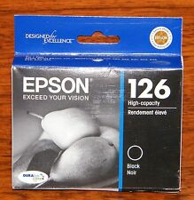 Epson Exceed Your Vision (T126120) 126 High Capacity Black Ink Cartridge (INK)