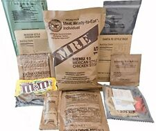 MREs (Meals Ready-to-Eat) Genuine U.S. Military Surplus valid until mid-2018