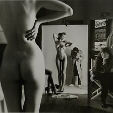 Helmut Newton Sumo Photo 50x70 Self-Portrait with wife June & Models, Paris 1981