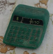 1980s Desktop Calculator Type Novelty Eraser / Rubber LCD Effect