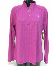 Laikus Dri-Release Merino Blend 1/4 Zip Neck Base Layer Thermal Top XL PINK