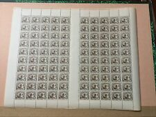 Planche De Timbres Indochine