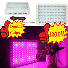 New 1200W Full Spectrum LED Grow light for Hydroponics Plants Flower Fruit Vege