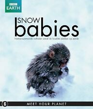 BBC EARTH : SNOW BABIES documentary -  Blu Ray - Sealed Region B for UK