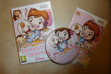 ORIGINAL NINTENDO Wii GAME BABYSITTING MAMA +BOX INSTRUCTIONS TESTED GWO PAL