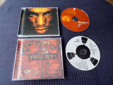 2 CDs Tricky Maxinquaye 1995 & Angels Wirth Dirty Faces 1998 TripHop Darktronica