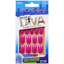 **LOOK 2  PACKS** Broadway Fashion Diva Nails Medium #55581 BGGD05 ( Shimmer )