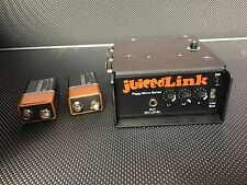 New JuicedLink RM333 Riggy Micro Low-Noise Preamp with extra