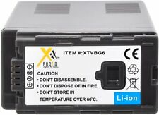 VW-VBG6 Replacement Battery for Panasonic VW-VBG070 VBG130 VBG260 DMW-BLA13E