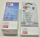 BOSCH-Siemens-Neff 10 x Reinigungstabletten + 6 x Entkalkungstabletten