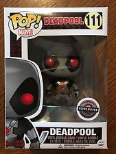 Funko Pop Marvel 111 Deadpool Grey XForce Gamestop Exclusive 2016